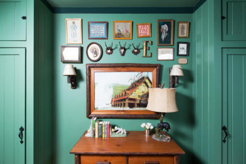 Bearsville Green Bedroom
